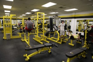 young athletes weight training
