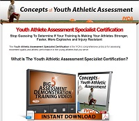 Youth Athletic Assessment Specialist Certification