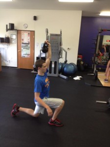 Single leg work with JV athletes high school strength and conditioning