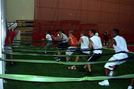 Progressing athletes with Resistance Bands