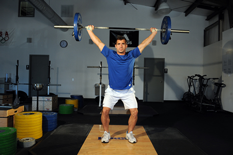Young Athletes: Teaching the Olympic Snatch