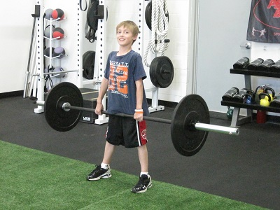 training young athletes with deadlifts
