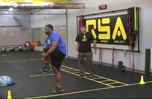 Cradle walks and other movement prep is crucial for incorporating acceleration training for athletes