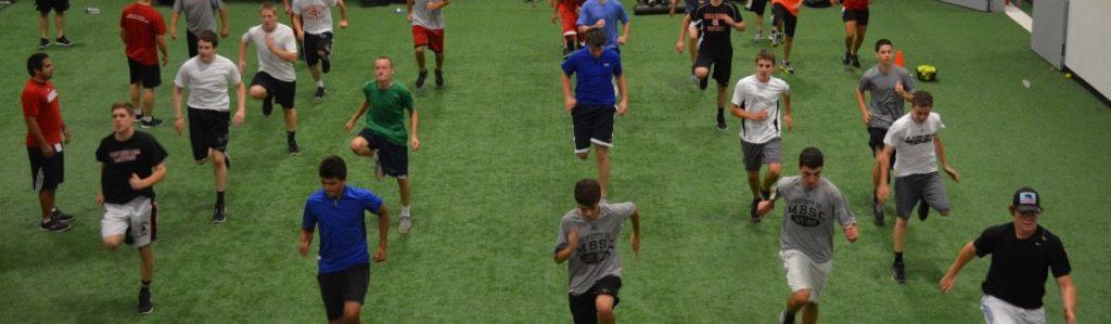 coaching kids at MBSC